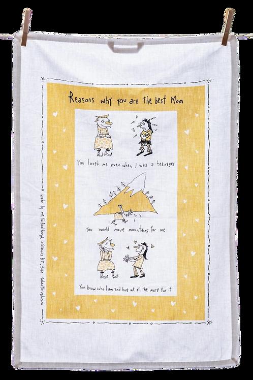 Best Mom Tea Towel