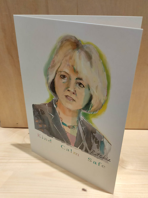 Greeting Card - Dr. Bonnie Henry Watercolor