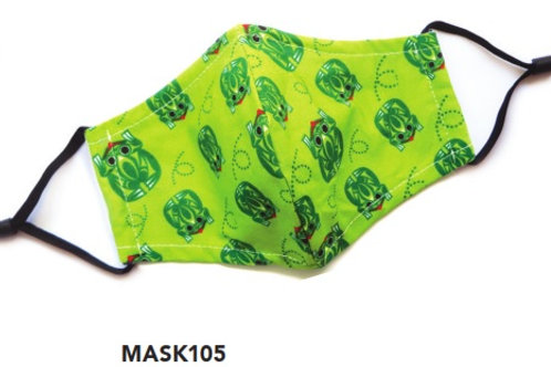 Face Mask - Kids Frog