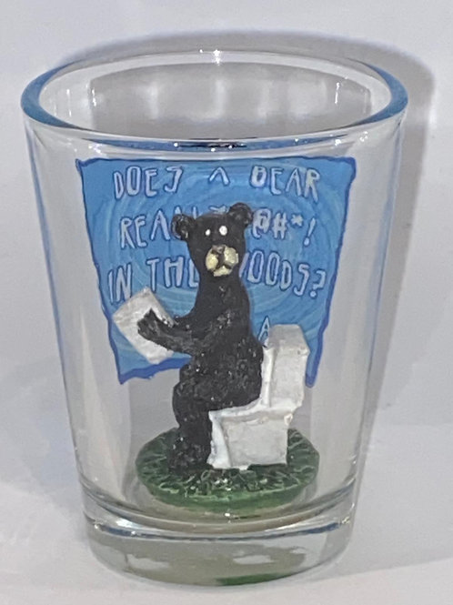 Bear Poop Shot Glass