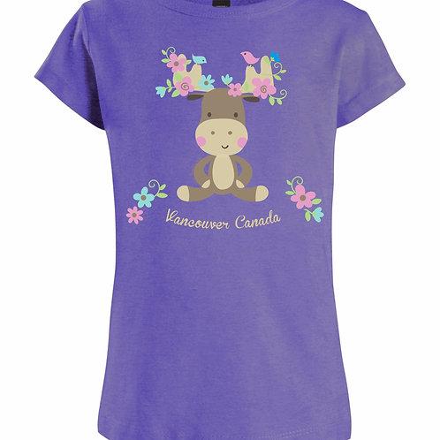 Flower Moose T-Shirt