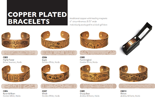 Copper Plated Bracelets