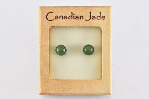 Jade Sphere (M) Earrings