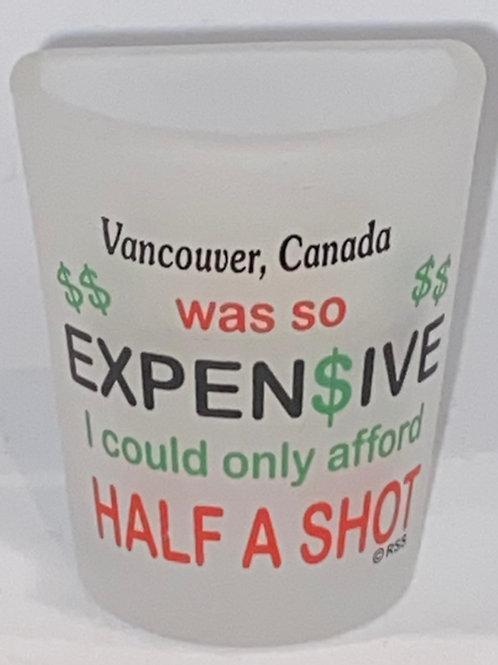 Half Shot Glass