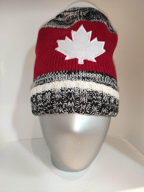 Basic Knit (2 Tone) Toque / Beanie