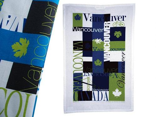 Vancouver Mosaic Tea Towel