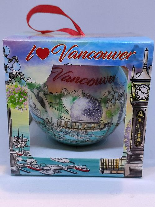Vancouver (Watercolor) Ornament