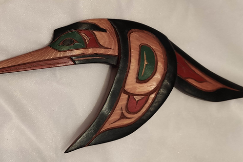 Humming Bird Wood Carving