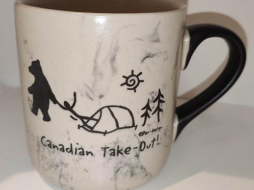 Canadian Take Out Swirl Mug