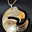 Thumbnail: Eagle Pendant with Chain  (S)