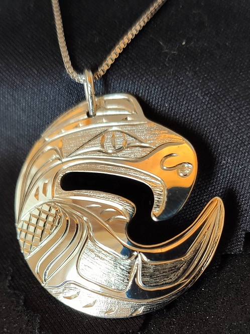 Eagle Pendant with Chain  (L)