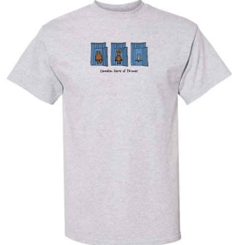 Canadian Game of Thrones Adult T-Shirt