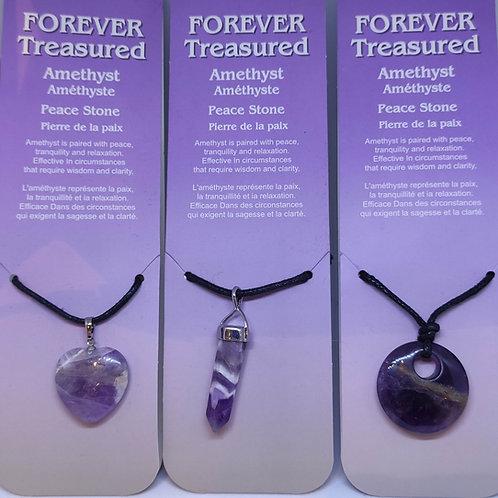 Amethyst Pendants/Necklace