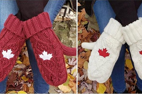 Maple Leaf Mitts