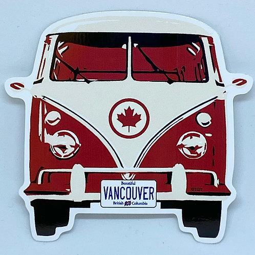 VW Bus Sticker