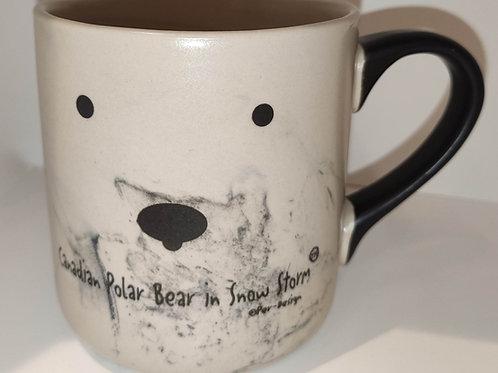 Canadian Snow Storm Swirl Mug