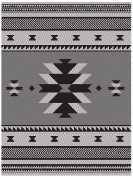 Woven Blanket - Visions of our Ancestors