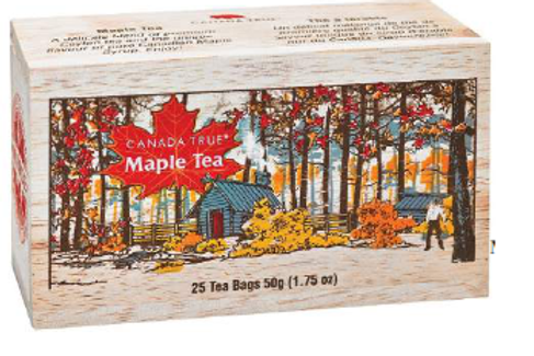 Maple Tea in Wood Box (Scenic)