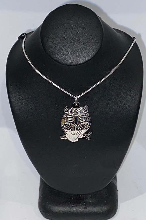 Owl Pendant (S) w/ Chain