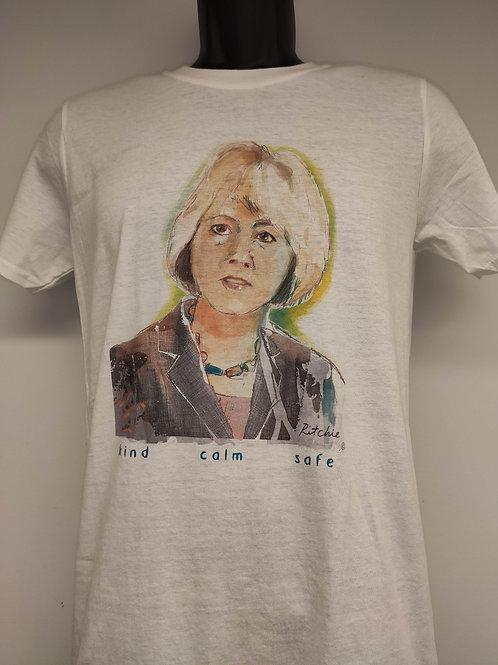 T-Shirt - Dr. Bonnie Henry Watercolor