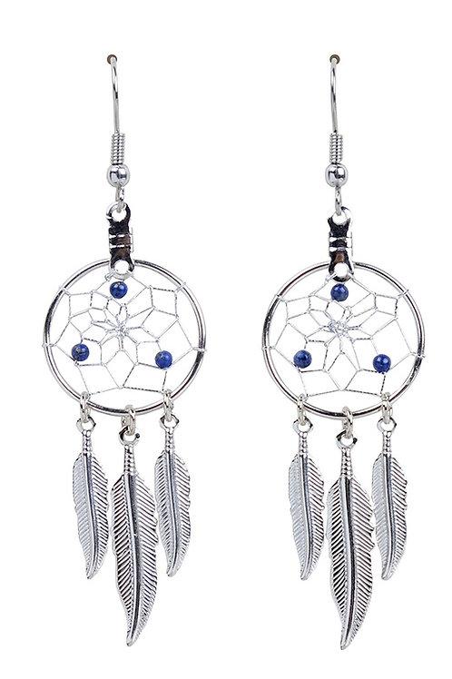 SEPTEMBER - LAPIS Birthstone DC Earrings