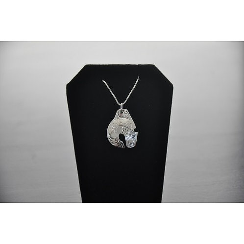 Orca (Killer Whale) Pendant with Chain
