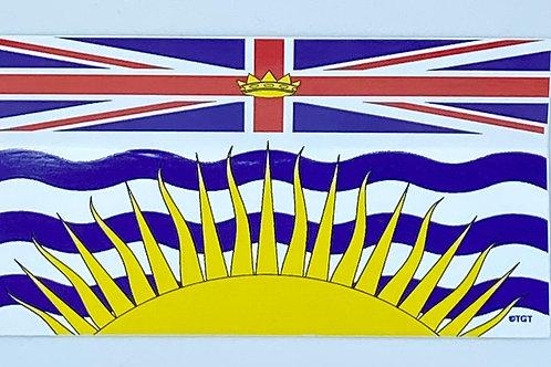 BC Flag Sticker