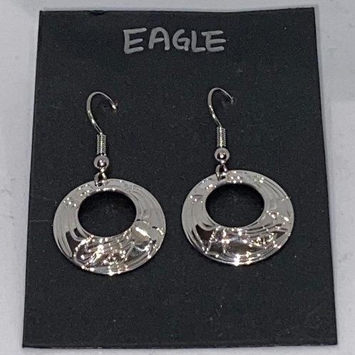 Eagle Hoop (S) Earrings