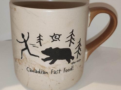 Canadian Fast Food Swirl Mug