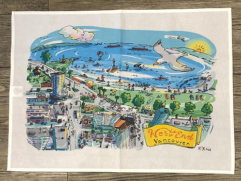 Tea Towel - Westend By Scot Ritchie