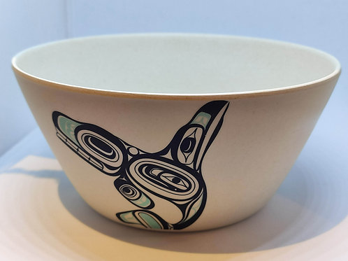 Bamboo Small Bowl (Killer Whale)