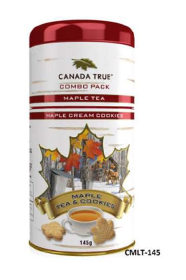 Maple Cookie & Tea Combo Tin