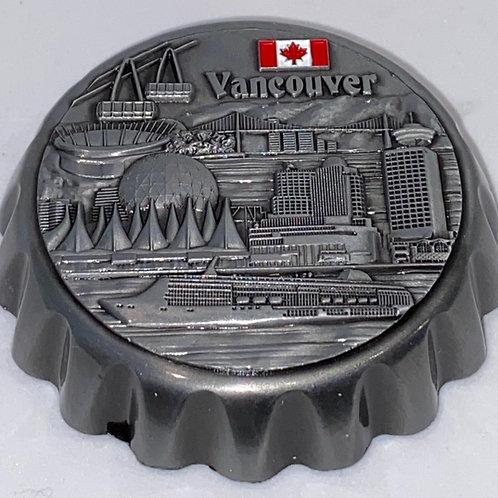 Scenes of Van (Metal) Bottle Opener Magnet