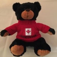 Black Bear with Vancouver Sweater