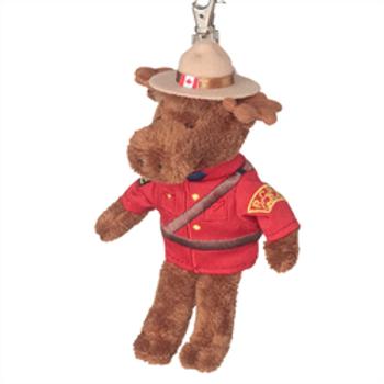 RCMP Moose Zipper Pull