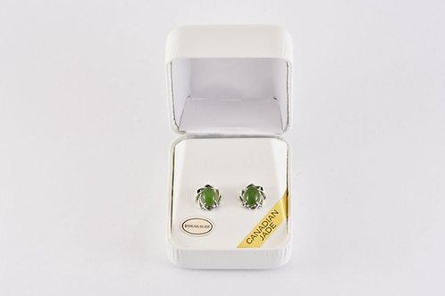 Jade Rose Earrings