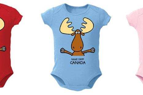 Moose Hug Onesies