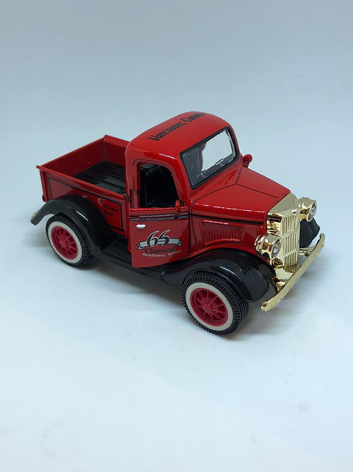 Metal Classic Red Truck