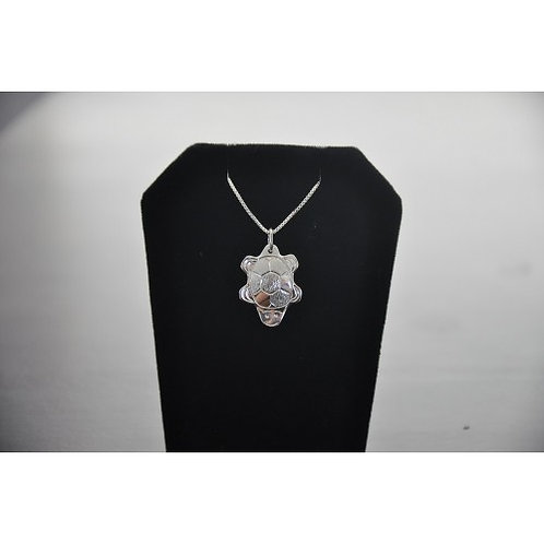 Cut Out Turtle Pendant with Chain
