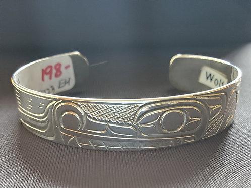 Wolf Bracelet - 1/2 Inch