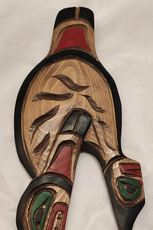 Orca (Killer Whale) Wood Carving