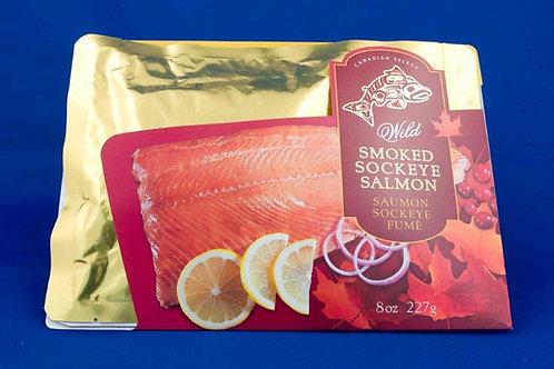 Smoked Sockeye Salmon (3 Sizes)