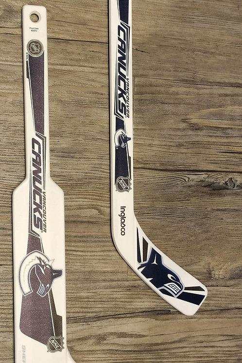 Canucks Mini Hockey Sticks