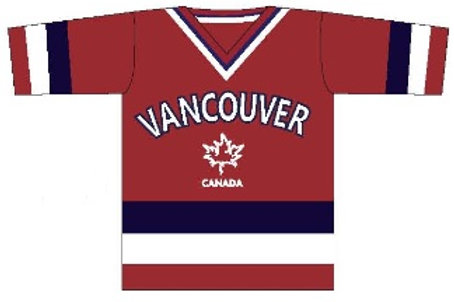 Vancouver Hockey-Style Jersey