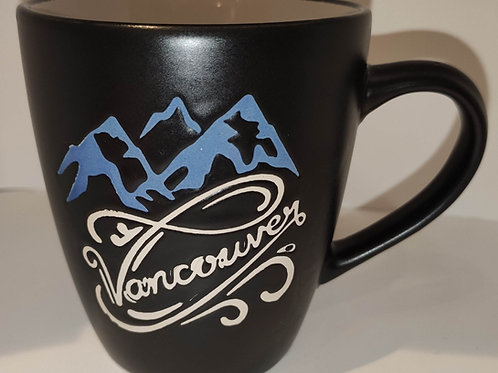 Vancouver Mug w/ Mountains