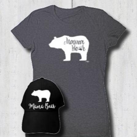 Mama Bear Family Tee
