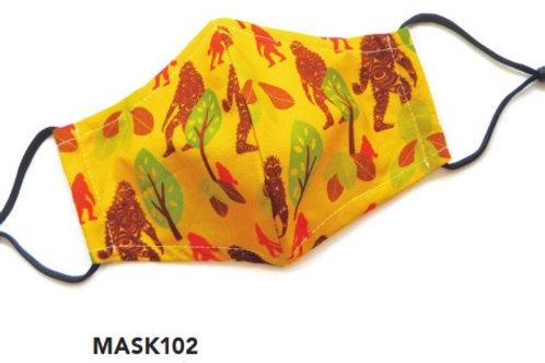 Face Mask - Kids Sasquatch