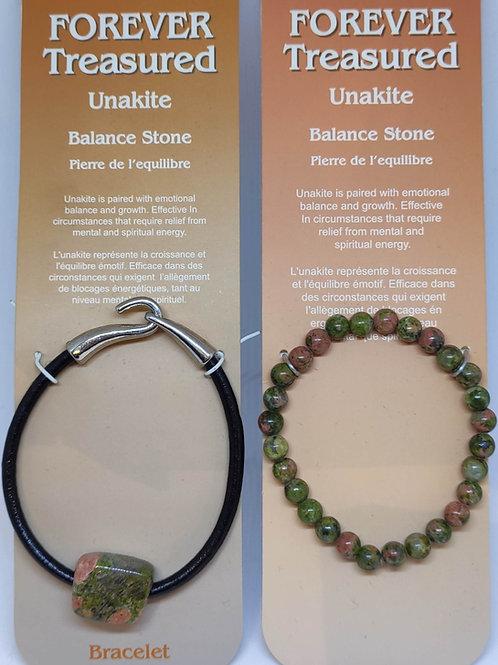 Unakite Bracelets