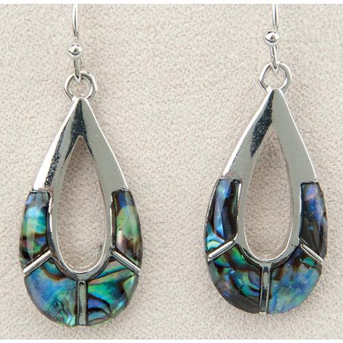 Glacier Pearl Teardrop Earrings