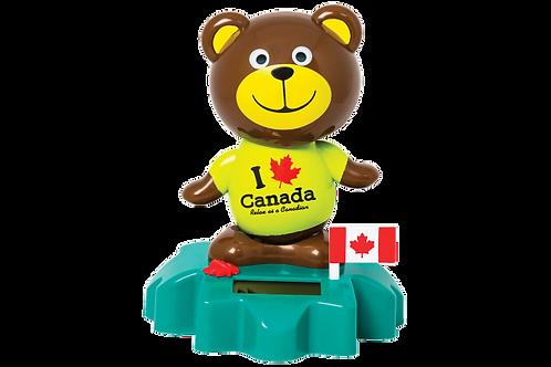 Solar Dancing Brown Bear